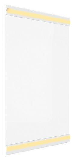 Карман настенный Ps-t со скотчем, формат А4, вертикальный (10 шт/уп)  NNB