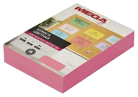 Бумага цветная Promega Jet (А4,75г,розовый неон) пачка 500л  ProMEGA