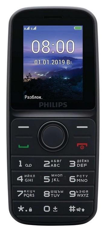 Мобильный телефон Philips E109 Xenium (Black)  Philips