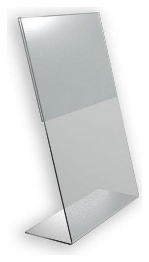 Подставка настольная Attache А4 210х297мм вертикальная односторонняяакрил Attache