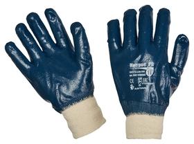 Перчатки защитные ампаро нитрос полное нитриловое покр резинка (446565)р.11  Ампаро