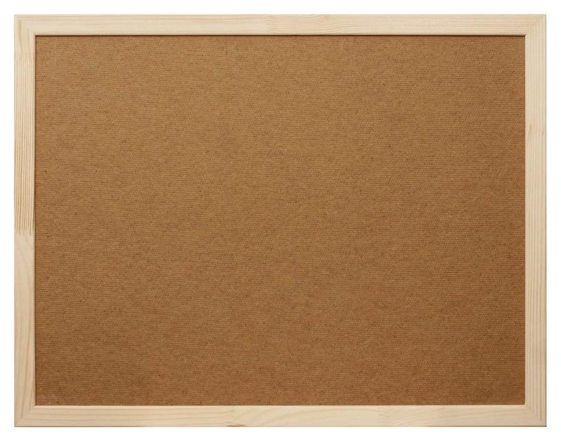 Доска Softboard Attache Economy 30х45 деревян. рама  Attache
