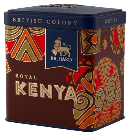 Чай подарочный набор Richard British Colony Royal Kenya черн., 50г  Richard