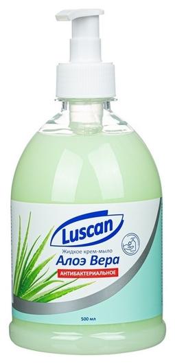 Крем-мыло жидкое Luscan алоэ вера антибактериальное  Luscan