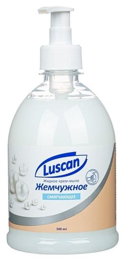 Крем-мыло жидкое Luscan жемчужное  Luscan
