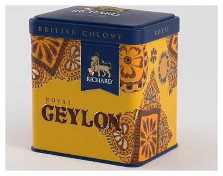 Чай Richard British Colony Royal Ceylon черн., ж/б, 50г Richard