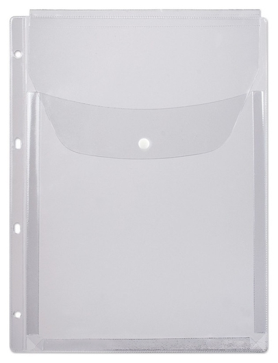 Папка-конверт на кнопке Attache А4, 180мкм, 200л, 1/5шт., 2308  Dps Kanc