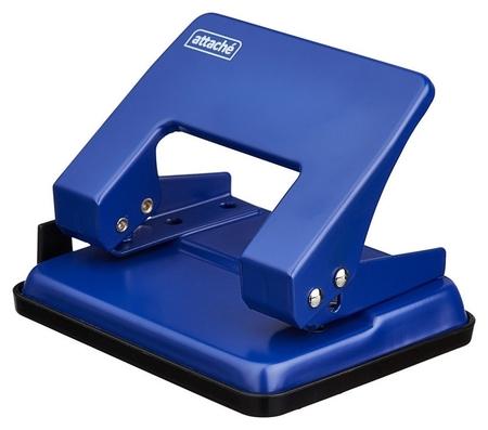 Дырокол Attache Wd204 до 16л., металл., синий  Attache