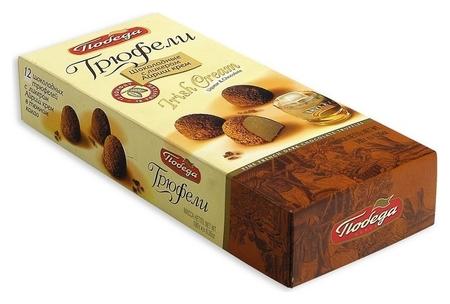 Набор конфет победа трюфели Irish Cream 180г Победа вкуса