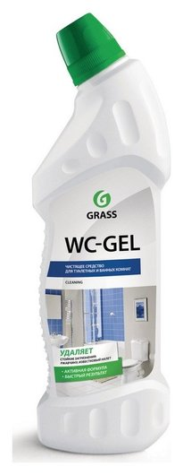 Средство для сантехники WC- GEL 750мл утенок кислотное  Grass