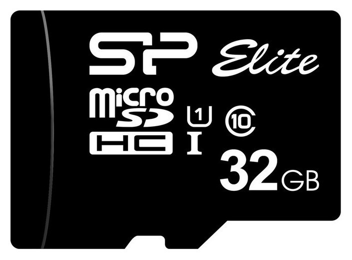 Карта памяти Silicon Power Elite Microsdhc 32gb Uhs-i +а,sp032gbsthbu1v10sp  Silicon power