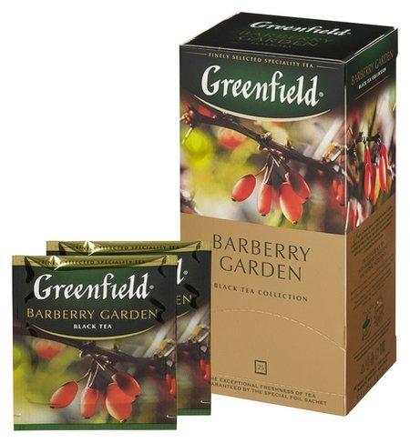 Чай Greenfield Barberry Garden барбарис и гибискус,25пак/уп 0710-10  Greenfield