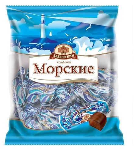 Конфеты морские  Бабаевский