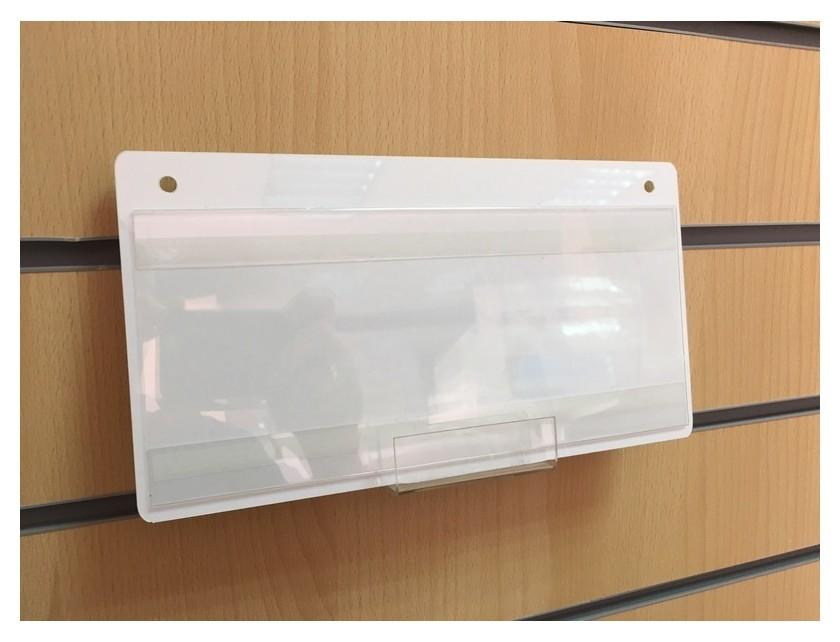 Информационная табличка подвесная 250х130, с карманом для смены информации  Attache