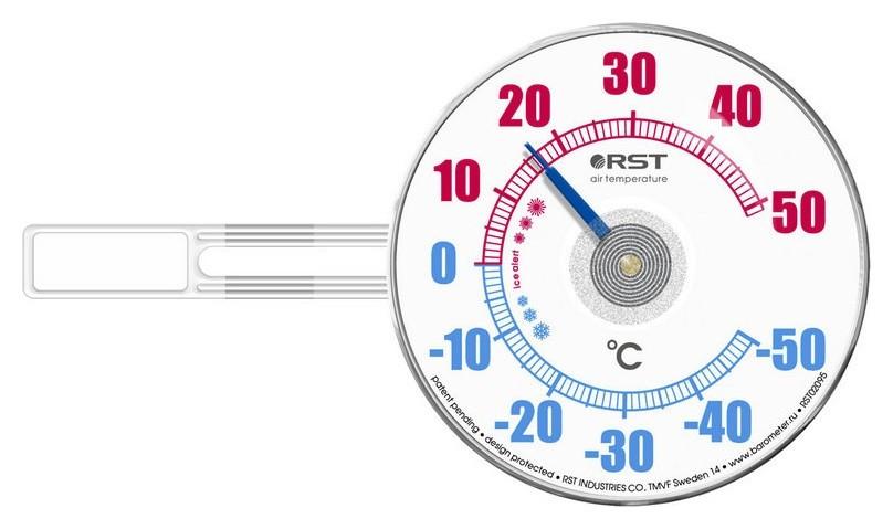 Термометр биметаллический на липучке Rst02095  RST