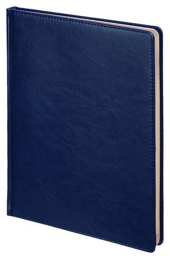Ежедневник недатированный синий,а4,210х300мм,136л, Sidney Nebraska 3-539/04 Альт