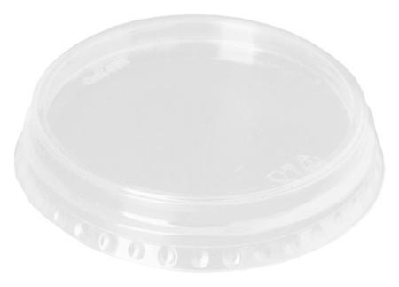 Крышка для стакана плоская D= 95мм ПЭТ 50шт/уп., 20уп/кор  Комус