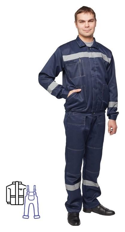 Спец.одежда летняя костюм муж. л22-кпк т.син. (Р.56-58) 194-200  NNB