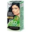 Cтойкая крем-краска для волос «Fitocolor» Тон 1.0 Черный