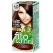 Cтойкая крем-краска для волос «Fitocolor» Тон 4.0 Каштан