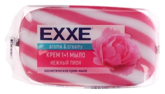Крем-мыло Нежный пион  Exxe