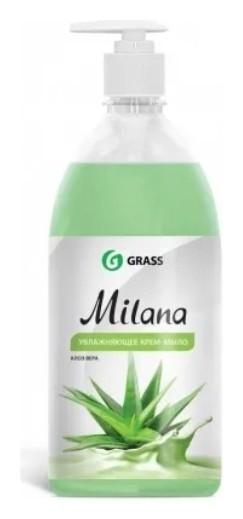 Крем-мыло жидкое Алоэ Вера   Grass