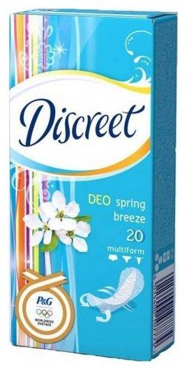 Прокладки ежедневные Весенний бриз Spring Breeze Multiform   Discreet
