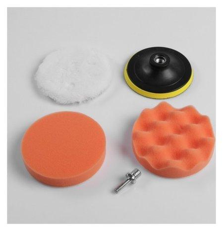 Набор кругов для полировки кузова Torso, 125 мм, 5 предметов  Torso