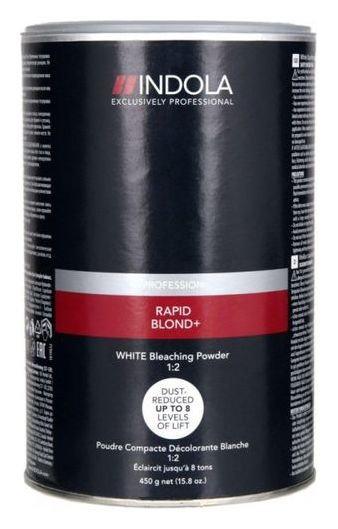 Обесцвечивающий порошок Bleaching powder rapid blond white  Indola