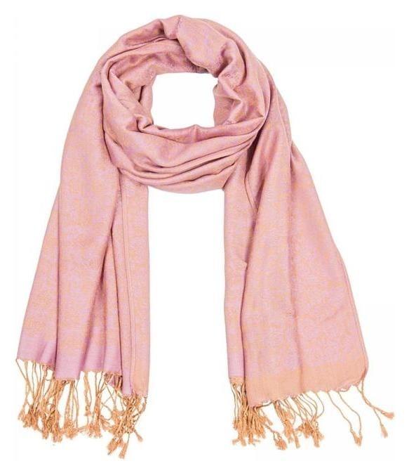 Палантин женский Pj1938_8 цвет розовый, р-р 68х178  Rossini