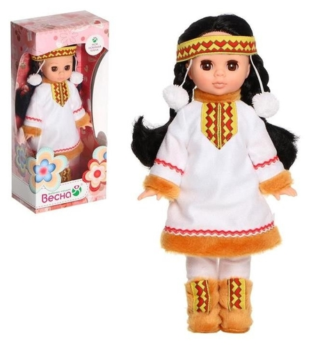 Кукла «Эля в костюме народов севера», 30 см  Весна