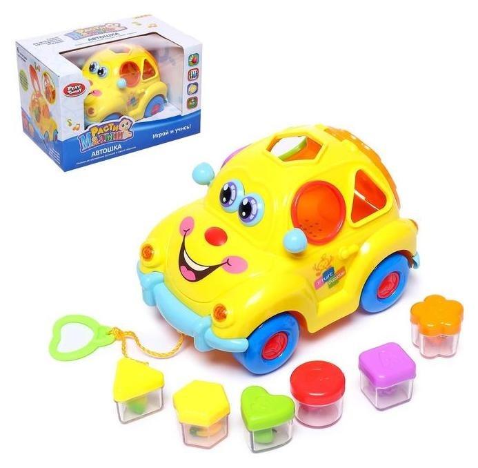 """Развивающая игрушка """"Машинка"""", световые и звуковые эффекты,сортер  Play Smart (Joy Toy)"""