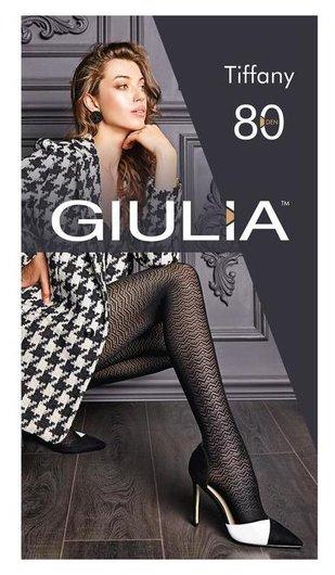 Колготки женские Giulia Tiffany 80 ден, цвет чёрный (Nero), размер 2 (S)  Giulia