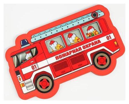 Развивающая доска «Пожарная охрана» 18 деталей  Нескучные игры