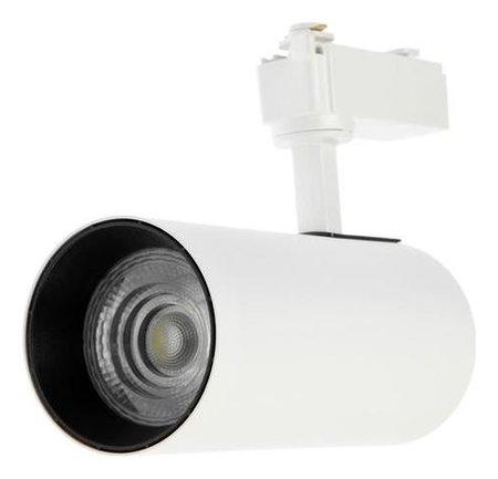 Трековый светильник Luazon, Eco, 24 Deg, 30 W, 2100 Lm, 6500k, холодн. бел., корпус белый  LuazON