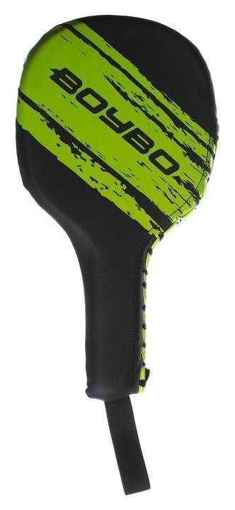 Лапа-ракетка Boybo Stain, флекс, цвет чёрный/зелёный  NNB