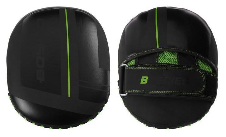 Лапы Boybo B-series, флекс, цвет чёрный/зелёный  NNB