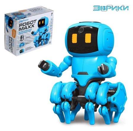 Электронный конструктор «Робот Maxx», работает от батареек  Эврики