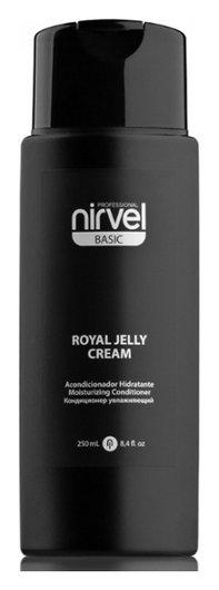 Кондиционер увлажняющий с пчелиным маточным молочком для окрашенных волос Royal Jelly Cream  Nirvel