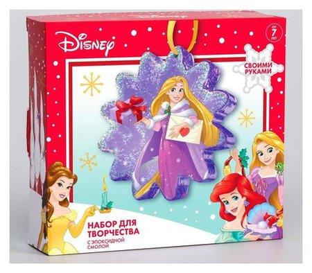 """Набор для творчества с эпоксидной смолой """"Рапунцель"""", елочная игрушка, принцессы  Disney"""