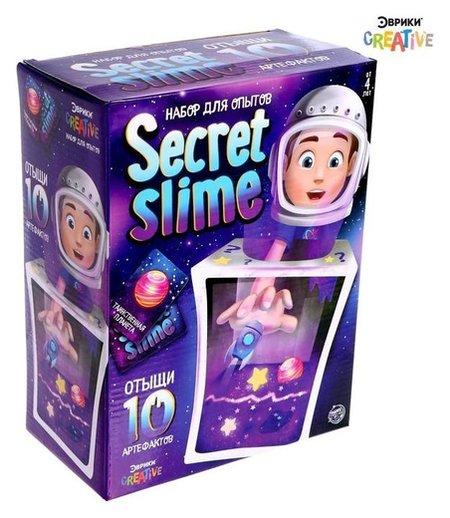 Набор для опытов Secret Slime, космос  Эврики