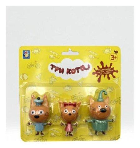 Игровой набор «Три кота. коржик, карамелька, компот»  1 Toy