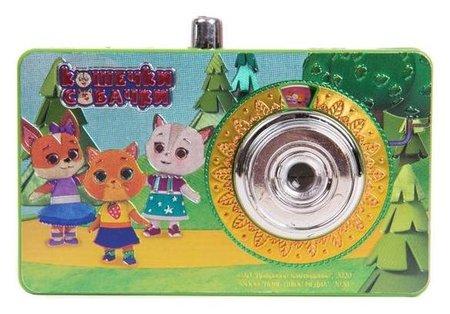 Фотоаппарат-проектор «Кошечки-собачки»  Росмэн