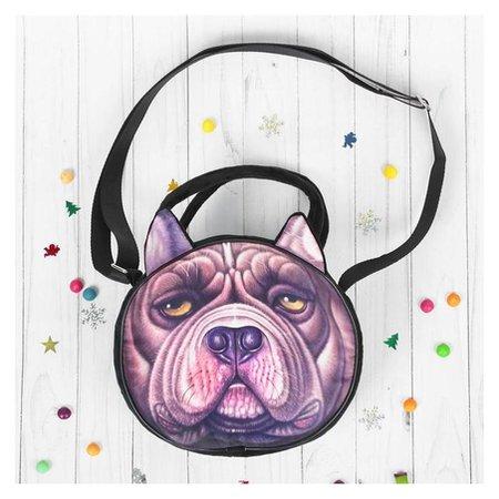 Мягкая игрушка-сумочка «Серьёзный пёсик», виды NNB