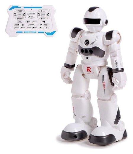 Робот радиоуправляемый IQ BOT Gravitone, цвет серый  Woow toys