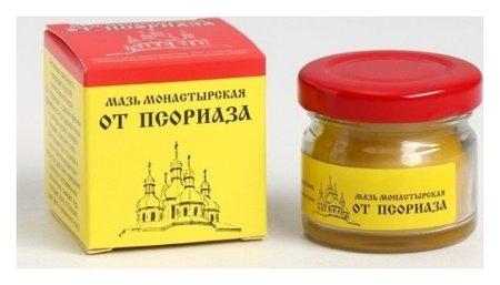 Мазь Монастырская от псориаза премиум  Бизорюк