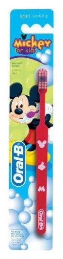 Зубная щетка детская Mickey for Kids   Oral-b