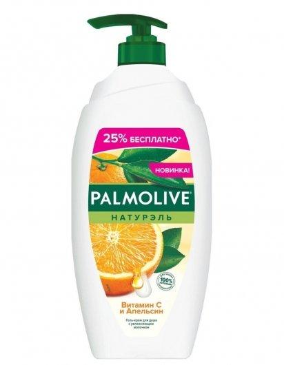Гель-крем для душа Витамин С и Апельсин  Palmolive