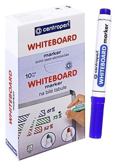 Маркер для доски Centropen 8559, 2.5 мм, синий  Centropen