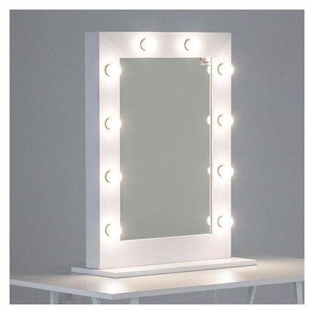 Комплект светодиодных ламп для подсветки зеркала, 10шт, контроллер, от Usb, 3000 - 6500к  NNB